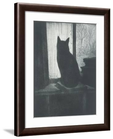Le Chat, C.1920-Christopher Richard Wynne Nevinson-Framed Giclee Print