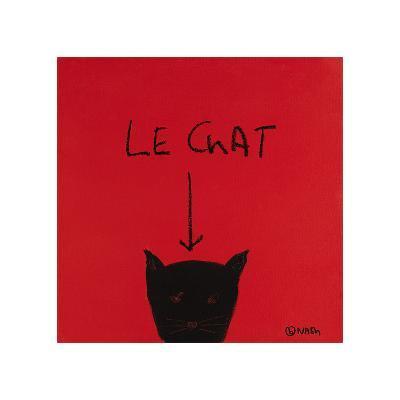 Le Chat-Brian Nash-Giclee Print