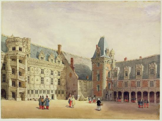 Le Chateau De Blois (W/C on Paper)-Thomas Shotter Boys-Giclee Print
