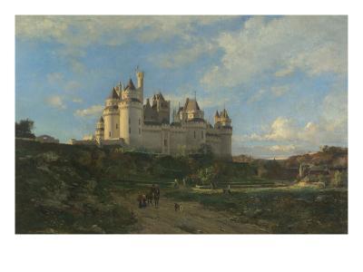Le Château de Pierrefonds-Emmanuel Lansyer-Giclee Print