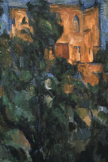 Le Chateau Noir, (Detail), 1904-1906-Paul C?zanne-Giclee Print