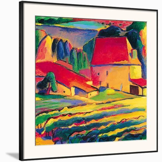 Le Chateau-Gerry Baptist-Framed Giclee Print
