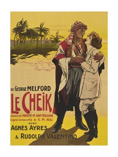 Le Cheik (The Sheik)--Art Print