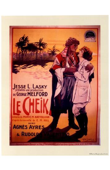 Le Cheik--Art Print
