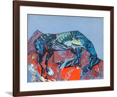 Le cheval-Kiro Urdin-Framed Premium Edition