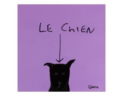 Le Chien-Brian Nash-Art Print