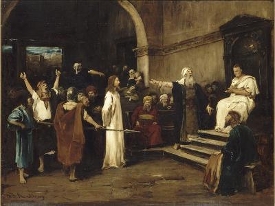 le Christ devant Pilate-Mihaly Munkacsy-Giclee Print