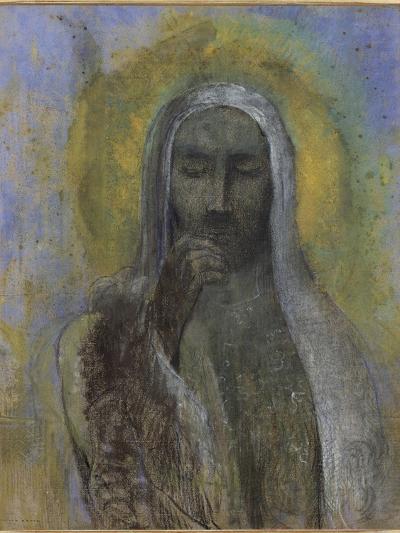 Le Christ du silence-Odilon Redon-Giclee Print