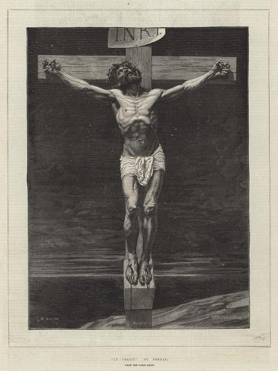 Le Christ, from the Paris Salon-Leon Joseph Florentin Bonnat-Giclee Print