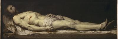 Le Christ mort couché sur son linceul-Philippe De Champaigne-Giclee Print