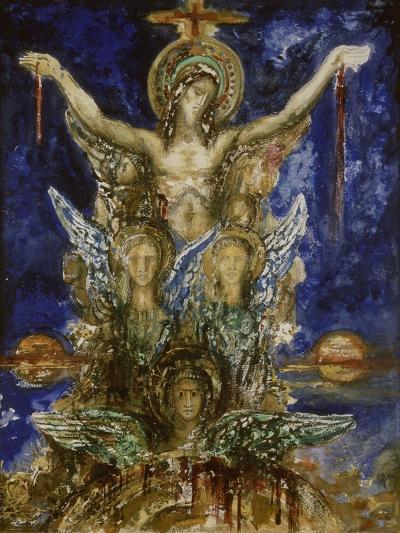 Le Christ R?dempteur-Gustave Moreau-Giclee Print