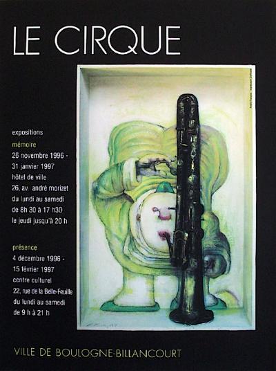 Le Cirque-Andr? Fran?ois-Collectable Print