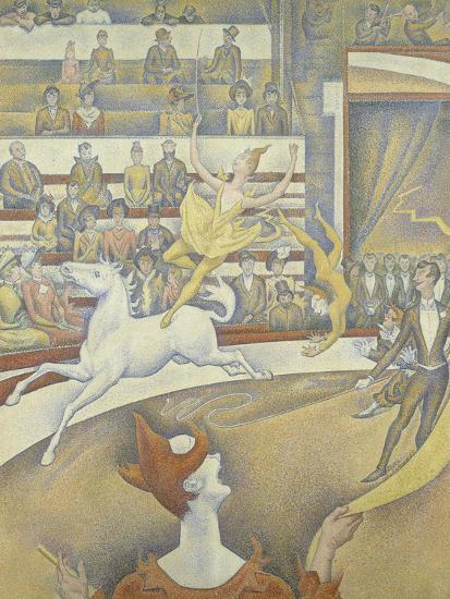 Le cirque-Georges Seurat-Giclee Print