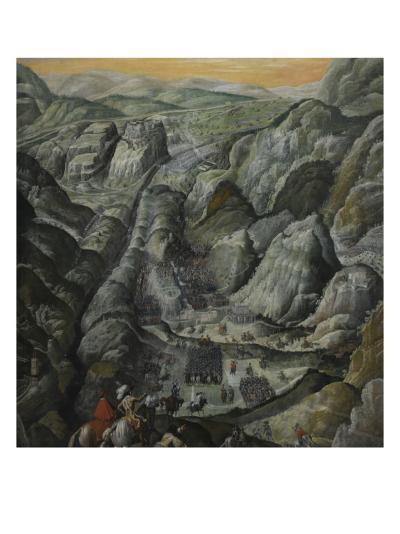 Le combat du défilé du Pas-de-Suze en Piémont, 6 mars 1629--Giclee Print