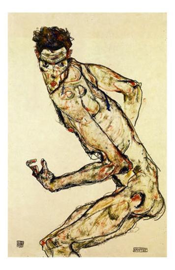 Le Combattant-Egon Schiele-Art Print