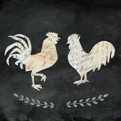 Le Coq Cameo Sq no Words-Courtney Prahl-Art Print