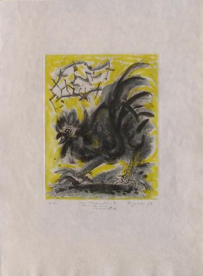 Le coq-Edouard Pignon-Limited Edition