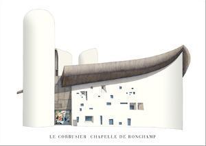 Chapel of Notre Dame du Haut, Ronchamp by Le Corbusier