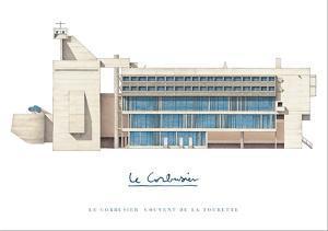 Sainte Marie de La Tourette, Lyon by Le Corbusier
