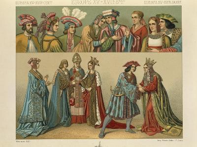 """Le Costume Historique""--Giclee Print"