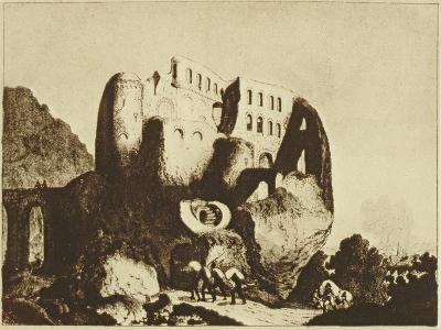 Le Coupe-Gorge Effrayant-Johann Michael Voltz-Giclee Print