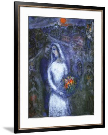 Le Couple-Marc Chagall-Framed Art Print