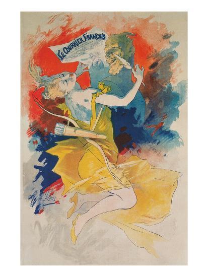 Le Courrier Francais Poster--Art Print
