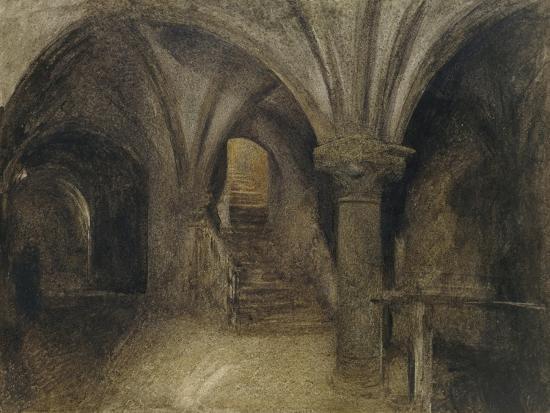 Le Crypte De L'Aquilon-Alfred William Hunt-Giclee Print
