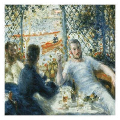 Le déjeuner au bord de la rivière-Pierre-Auguste Renoir-Art Print
