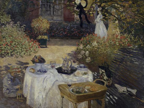 Le Dejeuner, c.1873-Claude Monet-Giclee Print