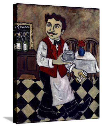 Le Diner Avec Moutarde--Stretched Canvas Print