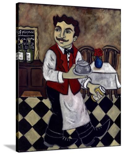 Le Diner Avec Moutarde--Stretched Canvas Print