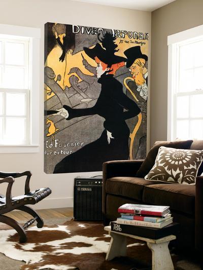 Le Divan Japonnais-Henri de Toulouse-Lautrec-Loft Art