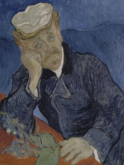 Le Docteur Paul Gachet (1828-1909)-Vincent van Gogh-Giclee Print