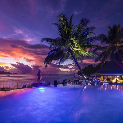 Le Domaine De L'Orangeraie Hotel, La Digue, Seychelles-Jon Arnold-Photographic Print