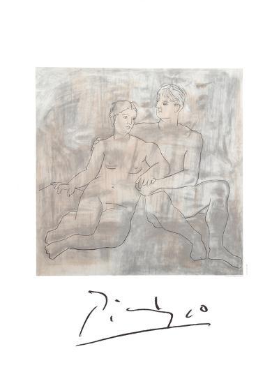 Le Entretien-Pablo Picasso-Collectable Print