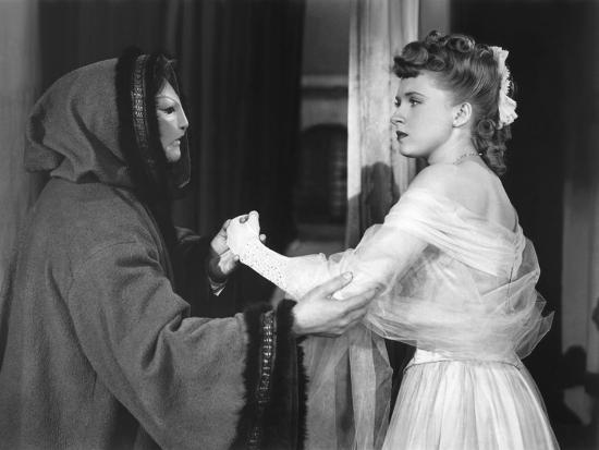 Le Fantome by l'Opera THE PHANTOM OF THE OPERA by Arthur Lubin with Claude Rains and Susanna Foster--Photo