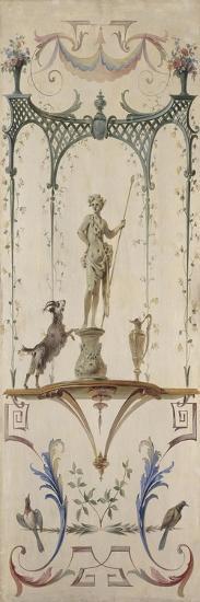 Le Faune-Jean Antoine Watteau-Giclee Print