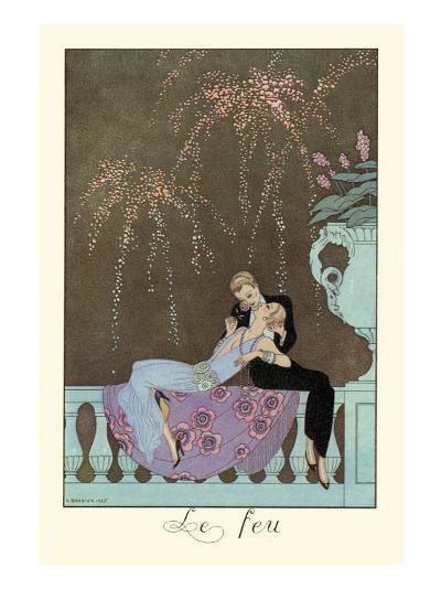 Le Feu-Georges Barbier-Art Print