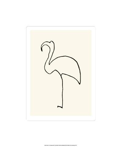 Le Flamand Rose-Pablo Picasso-Serigraph