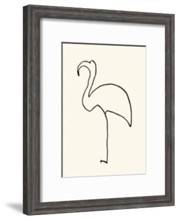 Le Flamand Rose-Pablo Picasso-Framed Serigraph