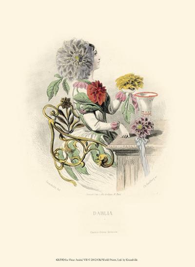 Le Fleur Anim? VII--Art Print