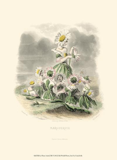 Le Fleur Animé III--Art Print