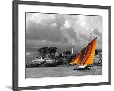 Le Forban de Bono-Jean-Marie Liot-Framed Art Print