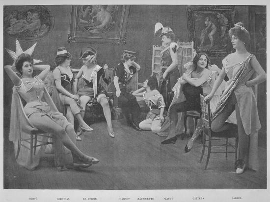 'Le Foyer Des Artistes', 1900-Unknown-Photographic Print