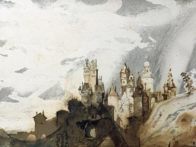 Le Gai Chateau-Victor Hugo-Giclee Print