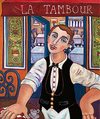 Le Garcon au Tambour-Holly Wojahn-Art Print