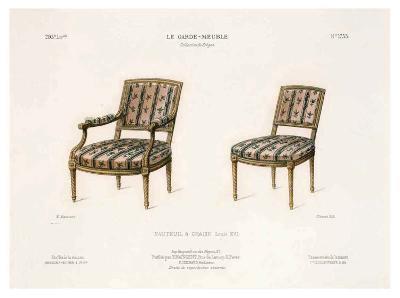 Le Garde-Meuble III-E^ Maincent-Art Print