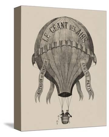 Le Geant des airs Ascension de Monsieur Armand Petit, between 1860-1880