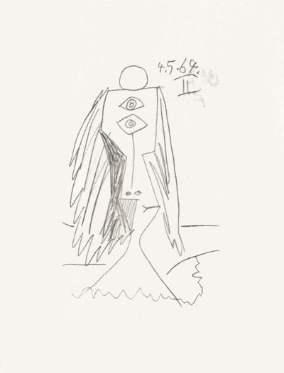 Le Go?t du Bonheur 05-Pablo Picasso-Serigraph